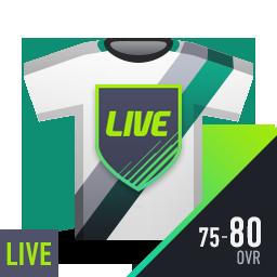 LIVE 클래스 선수팩 (OVR 75~80)