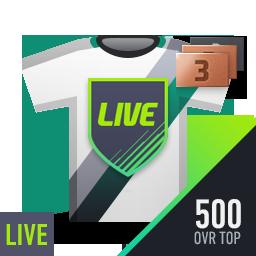 LIVE 클래스 BEST 500 강화선수팩 (1~3강)