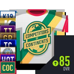 COC 포함 OVR 85+ 스페셜 선수팩