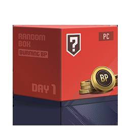 [19.08] 버닝 PC방 BP 상자 Day 1